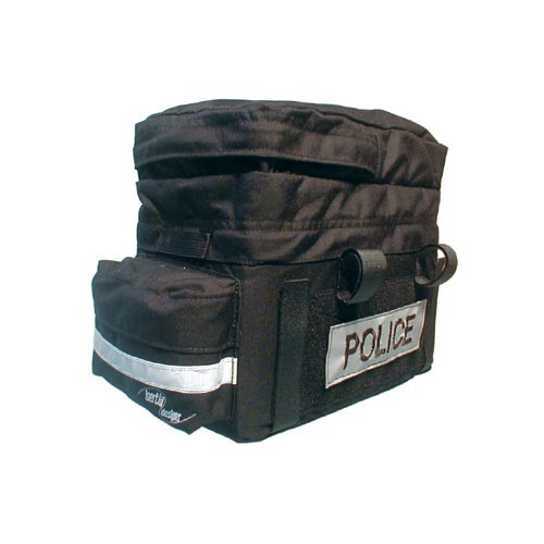 Inertia Police Trunk Bag with Pocket and Velcro