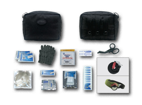 The TACMED™ Gunshot/ Trauma Kits are invaluable kits that could save your life, your partner's, victims or patient's.