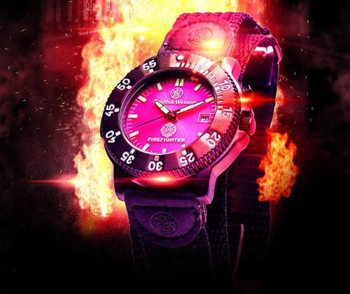 Smith & Wesson Fire Fighter Watch