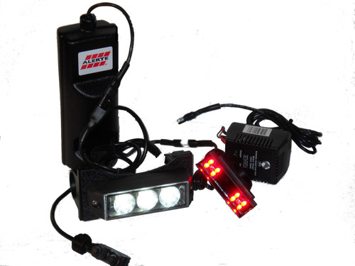 See and be seen on any trail with Alertes Trail Luminator Bike Light.