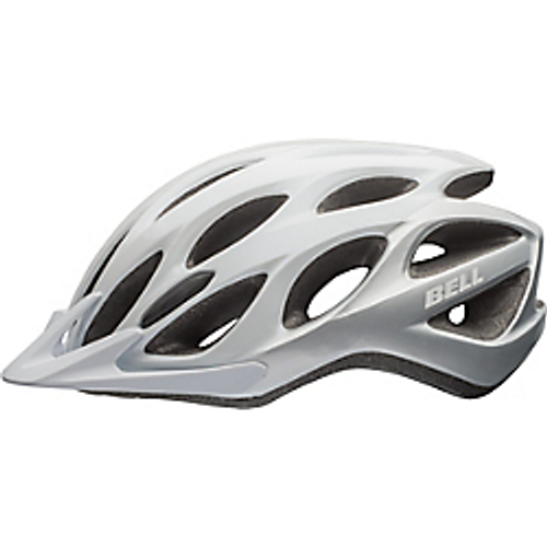 Bell Traverse white patrol bike helmet. Comes with decals of your choice. Police, Security, EMS, Sheriff or custom for your department.