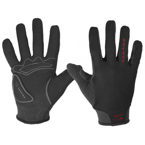 Covered Fingertips For Added Protection from Serfas