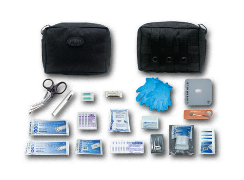 The Molle - Pac Trauma KitTM is your personal, economical, condensed yet complete  rst aid kit.