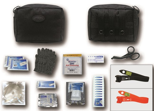 The TACMED™ Gunshot kit featuring the new S.T.A.T. Tourniquet is an invaluable kit that could save your life, your partners, victims or patients.