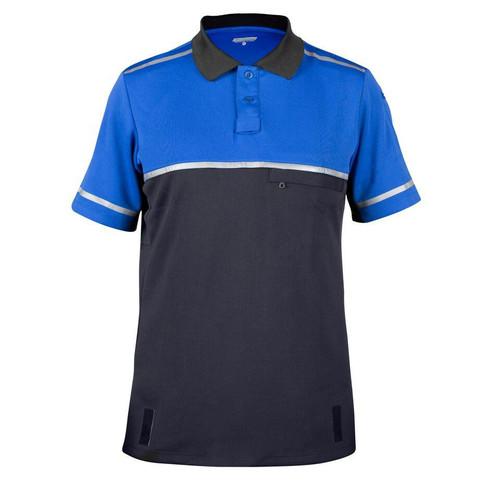 Bellwether Cycling Patrol Polo Shirt Royal/Black