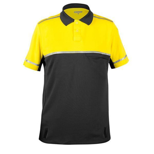 Bellwether Cycling Patrol Polo Shirt Yellow/Black