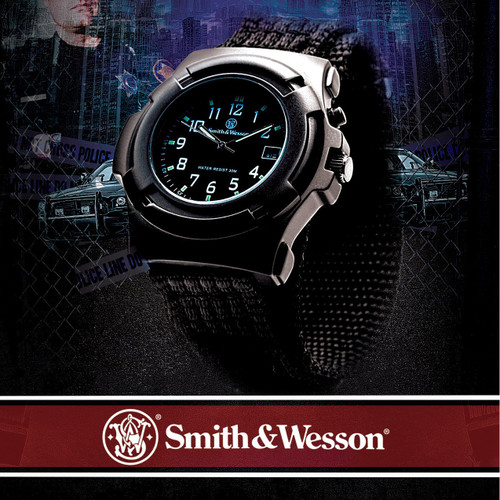 Smith and Wesson Lawmans Watch