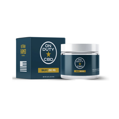 Treat yourself to softer skin and a sense of general well-being with On Duty CBD Balm 250mg!