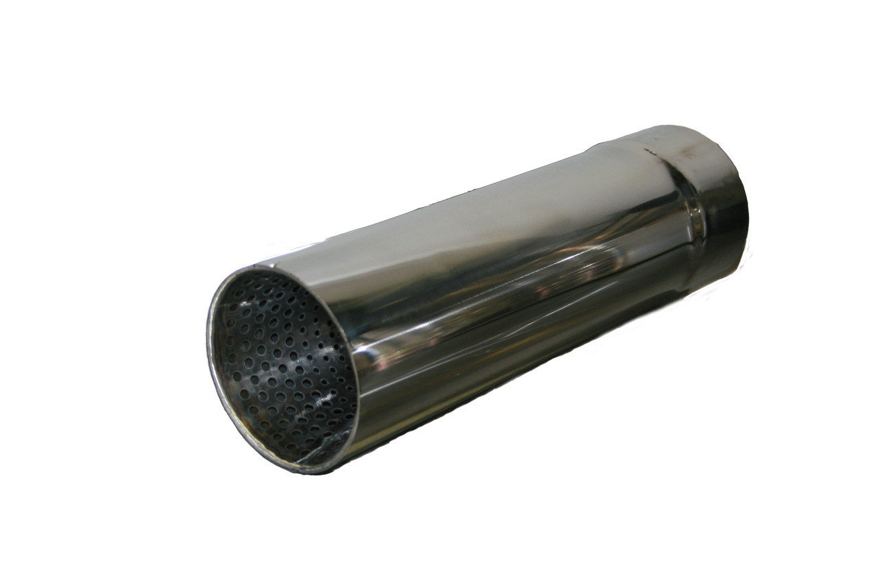 Pro Bullet Race Muffler, Stainless Steel, Polished