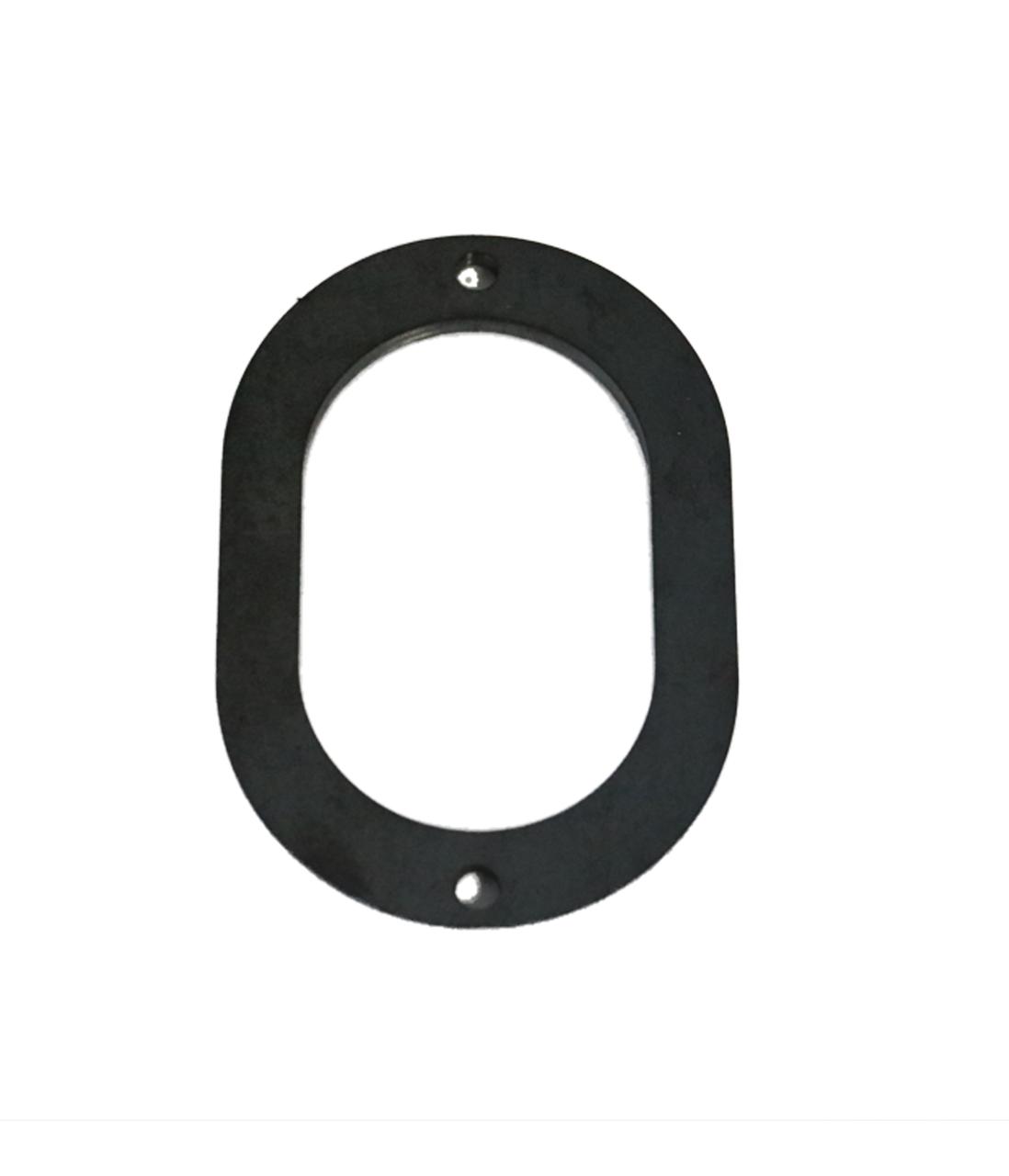 Oval  Collector Flange, Mild Steel