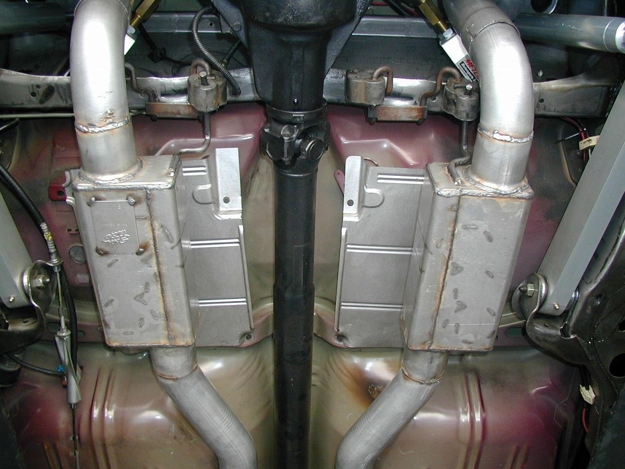 "1X389464 - 3"" Impala System with Pro Street 6000 Mufflers"