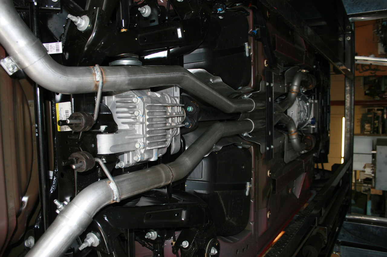 "Camaro 3"" X-Pipe & H-Pipe Systems, Install"
