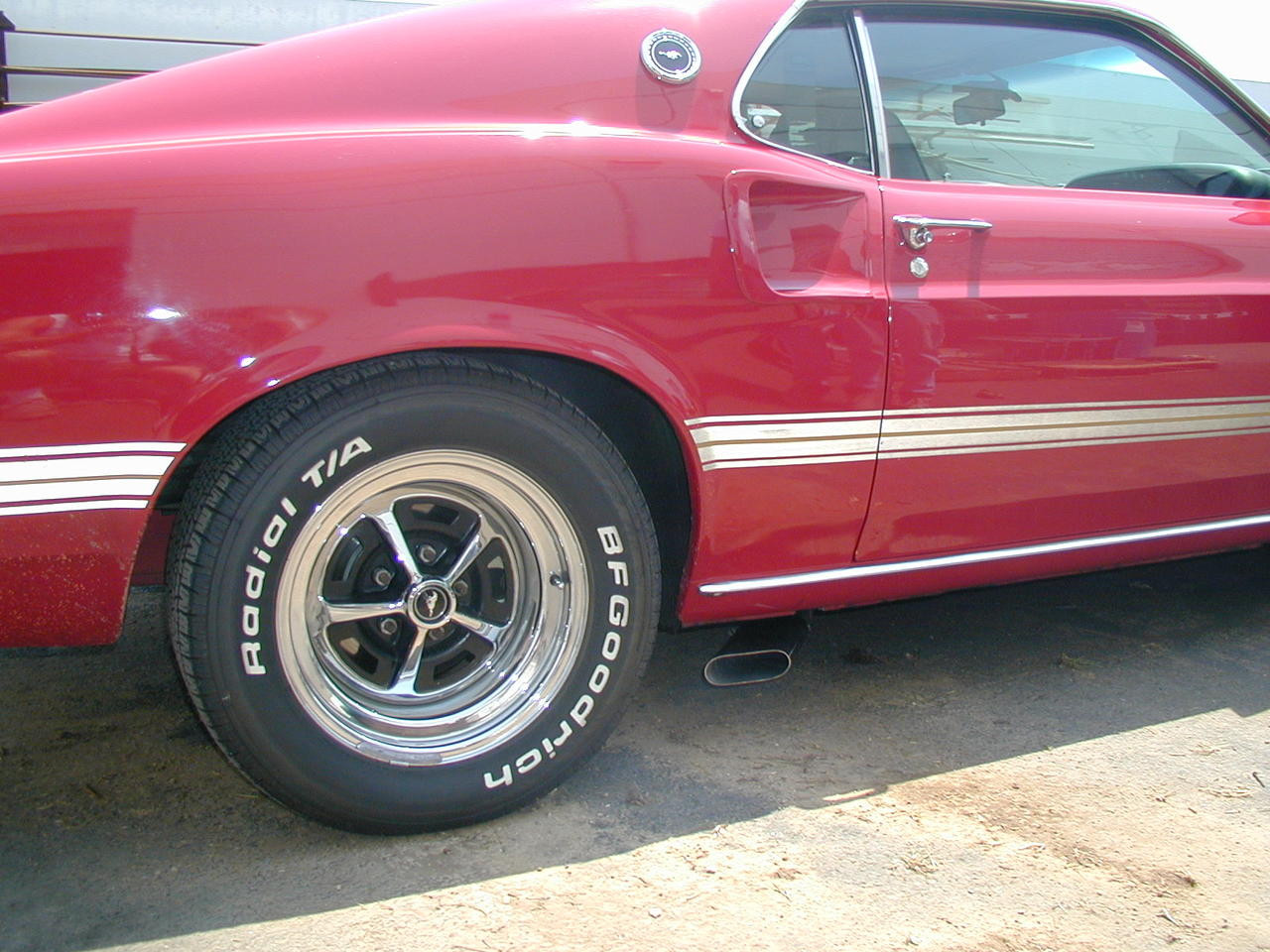 Mustang Side Exit Kits For 1965 1985 V8 Mustangs