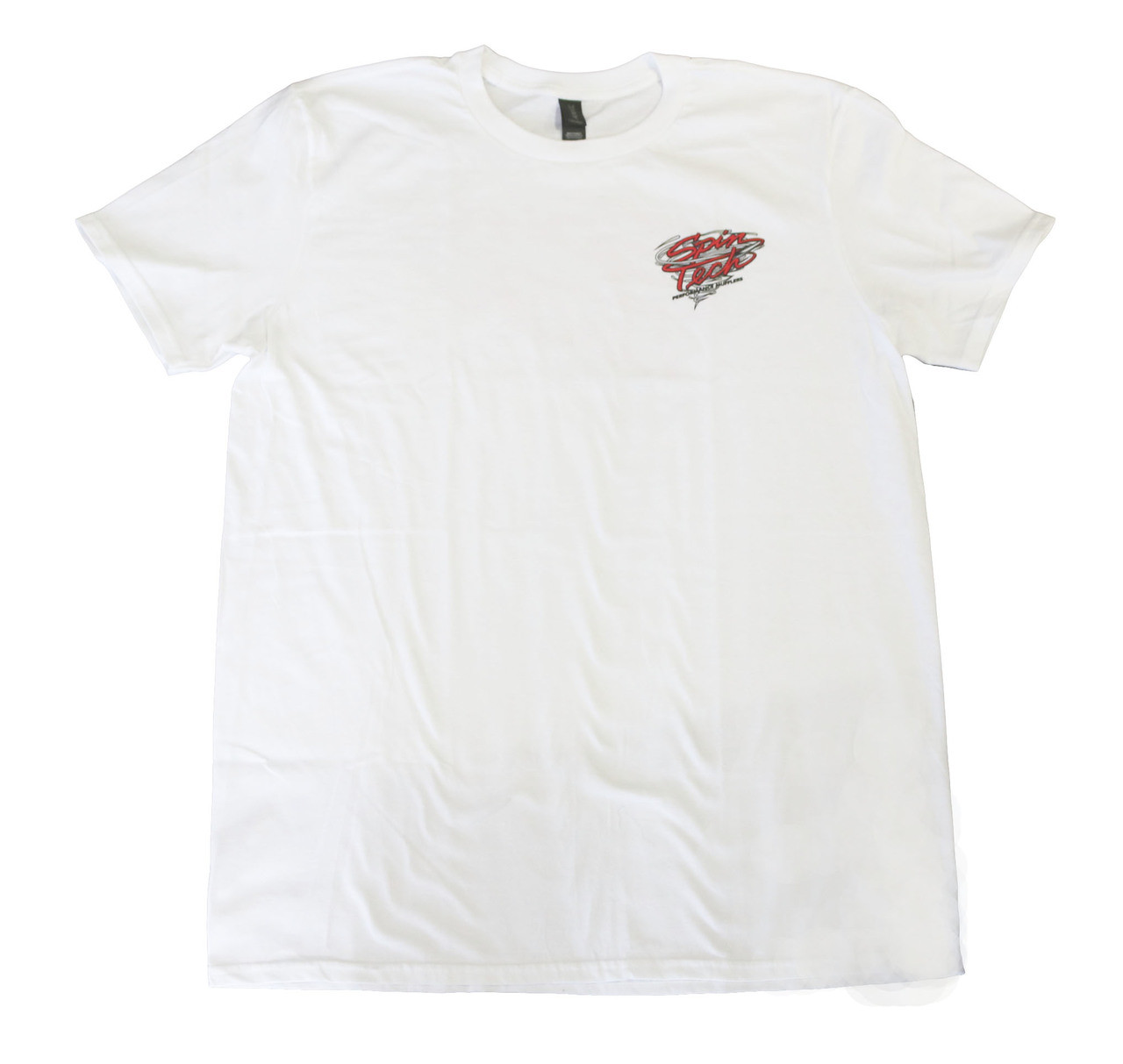 SpinTech T Shirt White Front