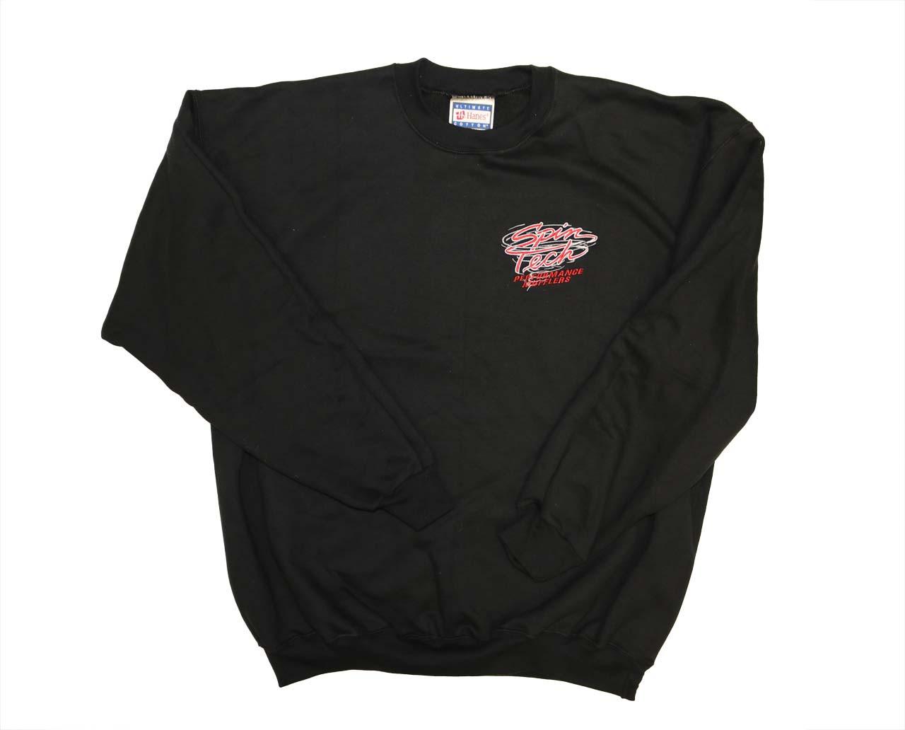 SpinTech Black Sweat Shirt