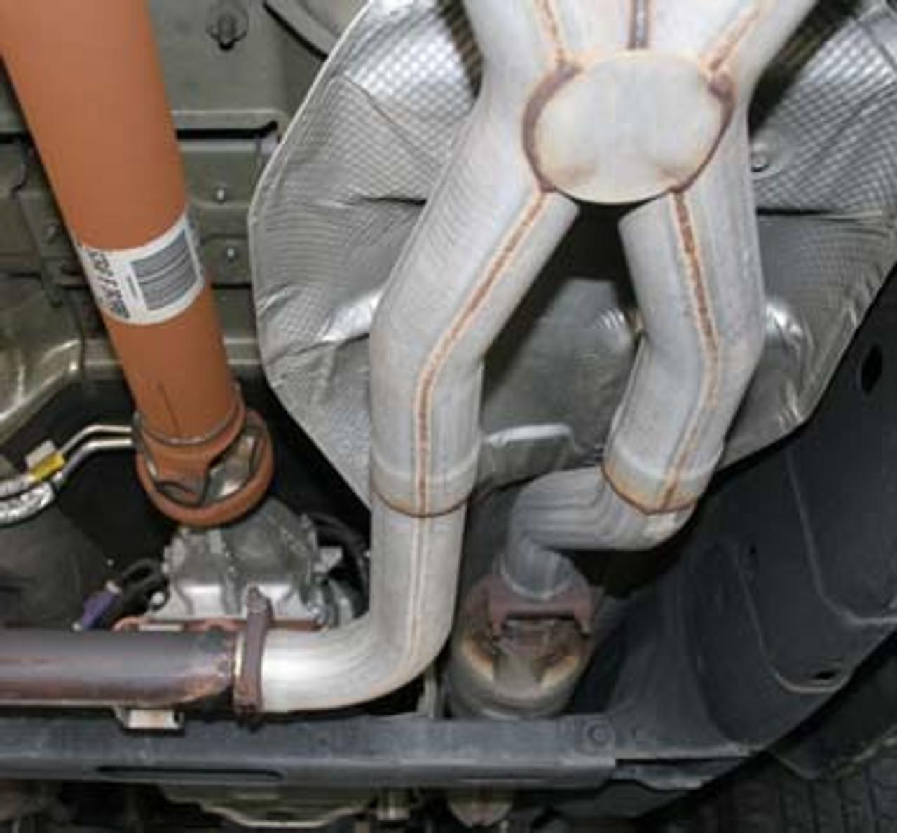 Ford F150 True Dual X  Side Exit System