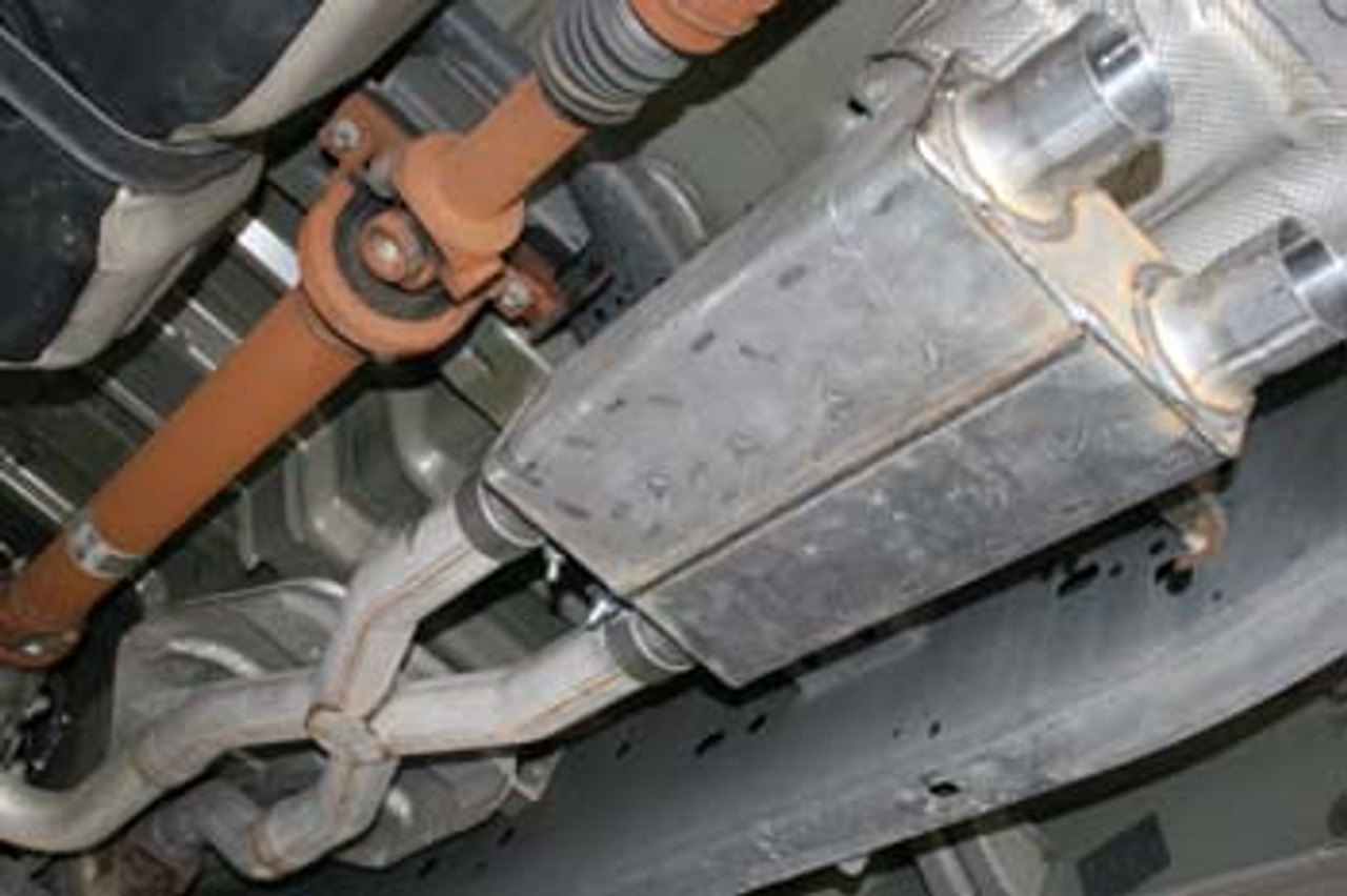 Ford F150 True Dual X or H-Pipe Side Exit System