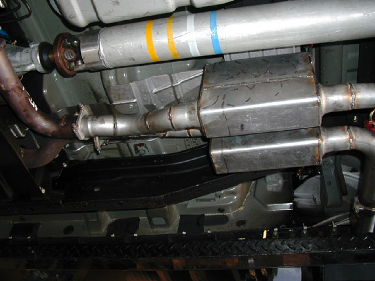 "Ford Lightning 2½"" or 3"" Exhaust Systems,  Super Stock 1000 Mufflers"