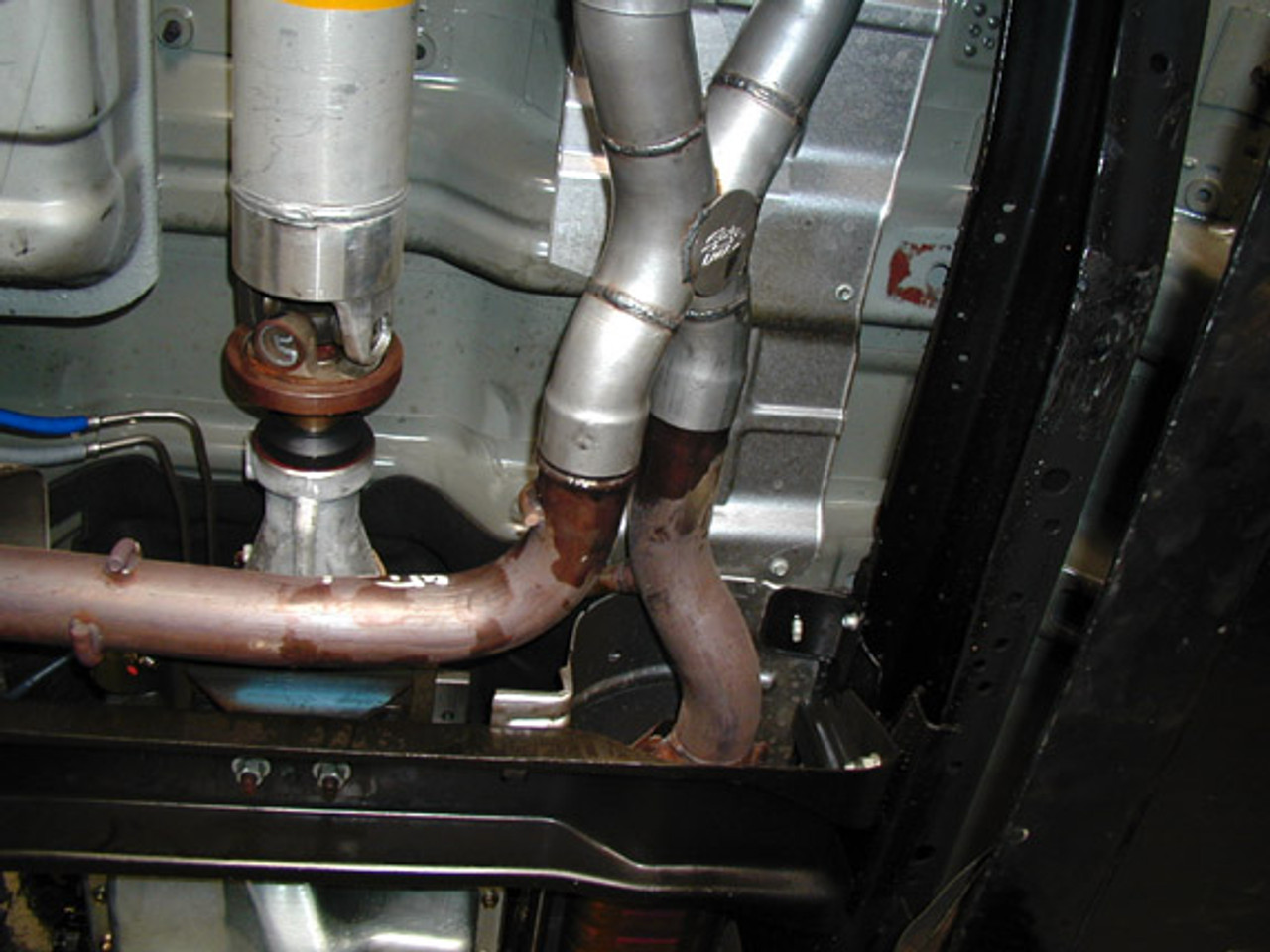 "Ford Lightning 2½"" or 3"" Exhaust Systems, X Pipe"