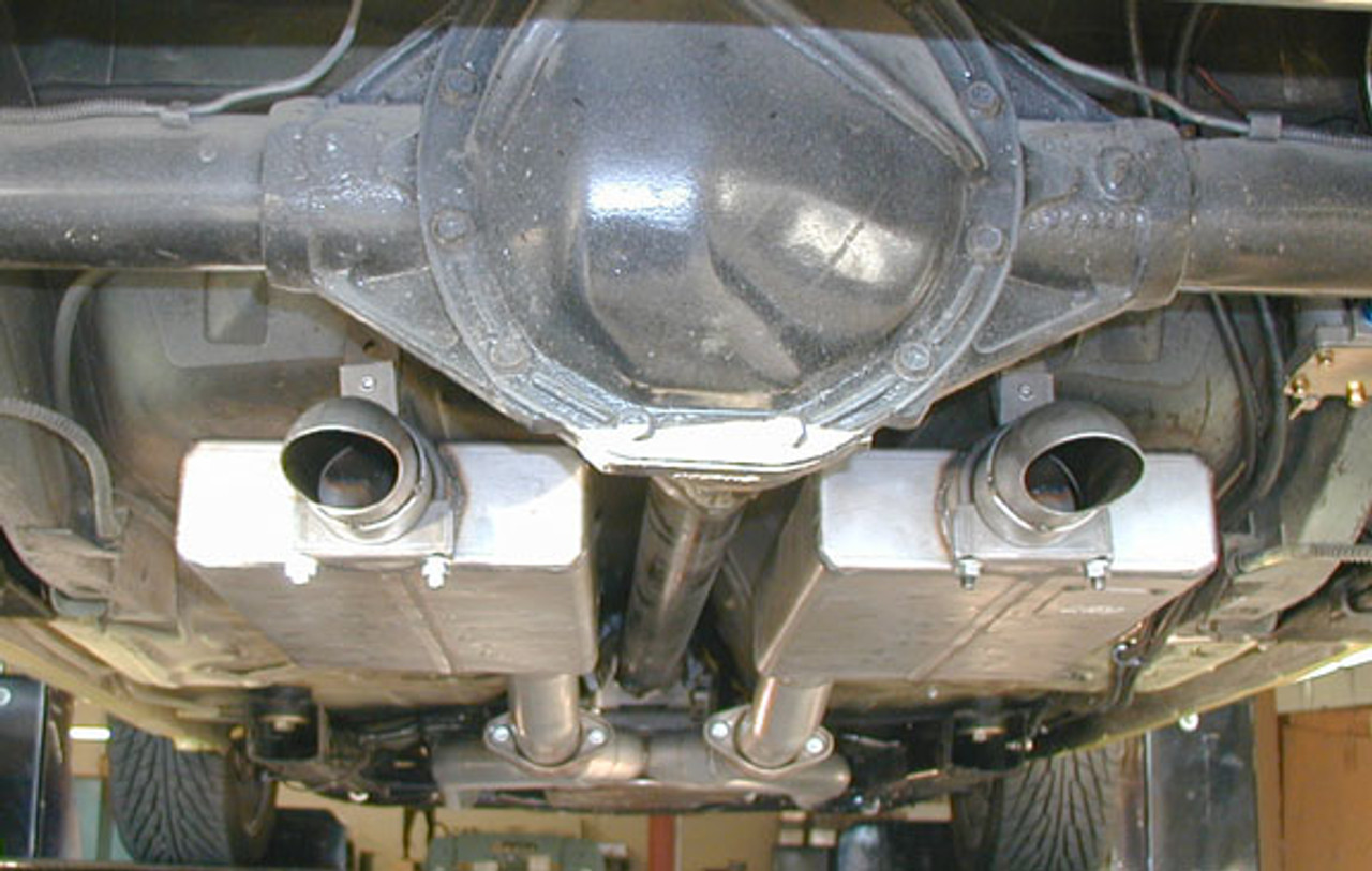 Sportsman Street 3000 Mufflers with turndowns