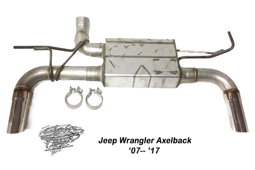 Jeep Wrangler Axle Back System