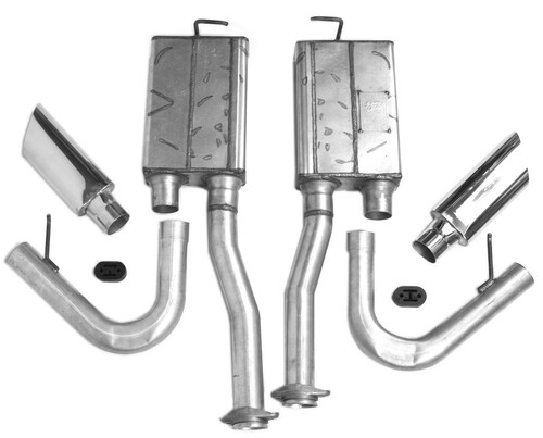 Mustang 1986 - 1995 Side Exit Exhaust Kit