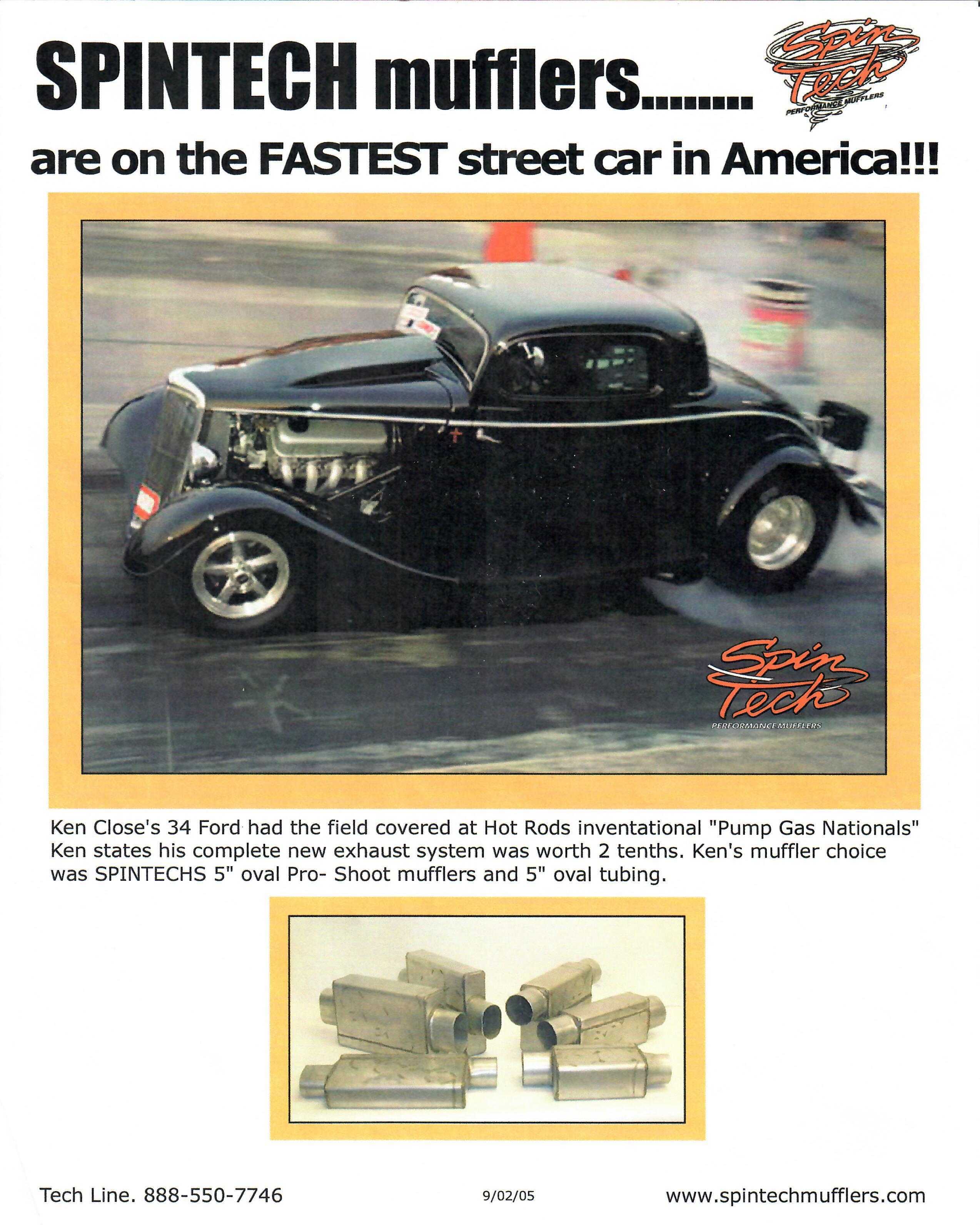 SpinTech Fastest Car