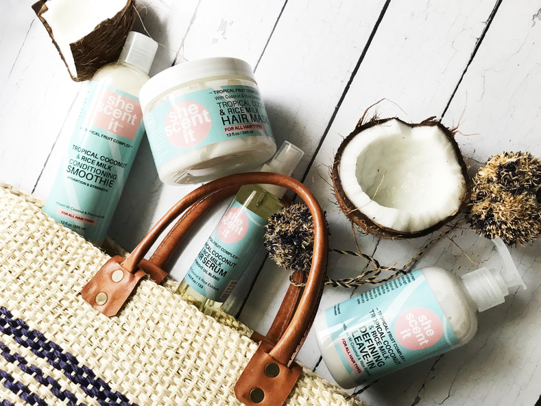 TROPICAL COCONUT & RICE MILK COLLECTION
