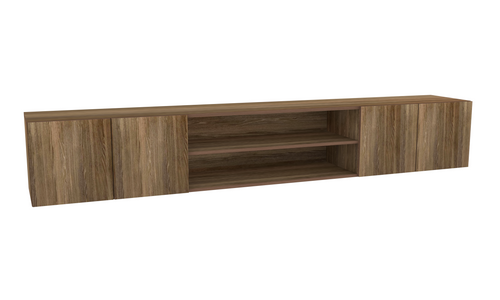Boston Entertainment Unit in Reclaimed Wood