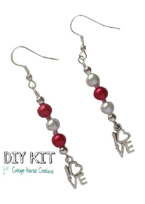 Lovely ~ Valentine Earring Kit