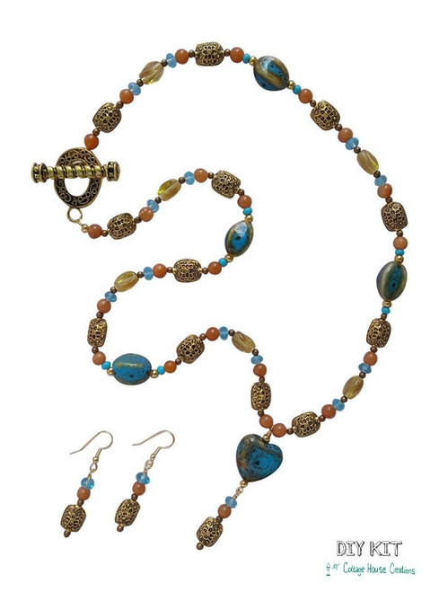 "Designer ""Valencia"" Jewelry Making Bead Kit"