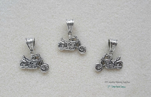 Motorcycle Biker European Charm Dangles