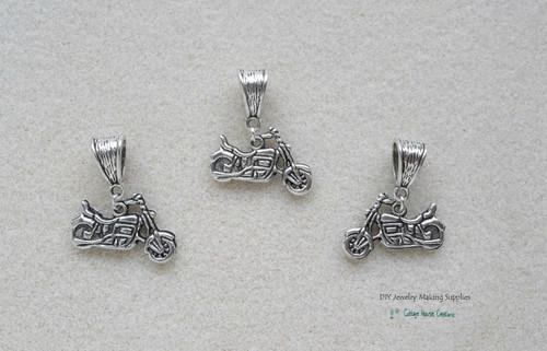 Motorcycle Biker European Charm Dangles