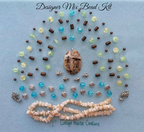 Palm Coast Summer Designer Mix Bead Kit