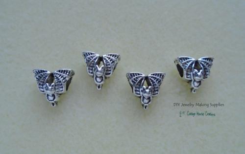 Bat Bead Large Big Hole European Paracord Bracelet DIY Jewelry Making Macrame