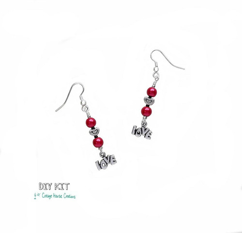 In Love ~ Beaded Earring Kit