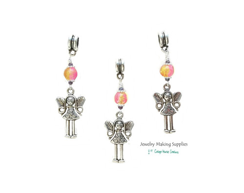 Fairy Girl  Euro Dangles European Charms