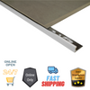 Aluminium Tiling Angle (Punched + Bright Chrome Silver 3.0M)