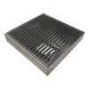 Wedge Wire Floor Grate 100mm x 100mm x 25mm 75mm Outlet