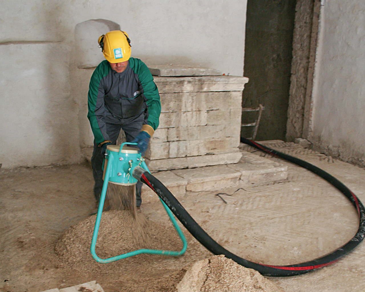 Imer Screed Pump Sand and Mortar Conveyor