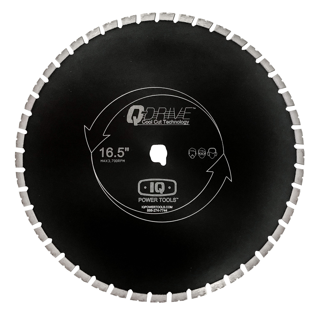 "IQ Power Tools Masonry Blade Combo Silent 420mm (16"")"