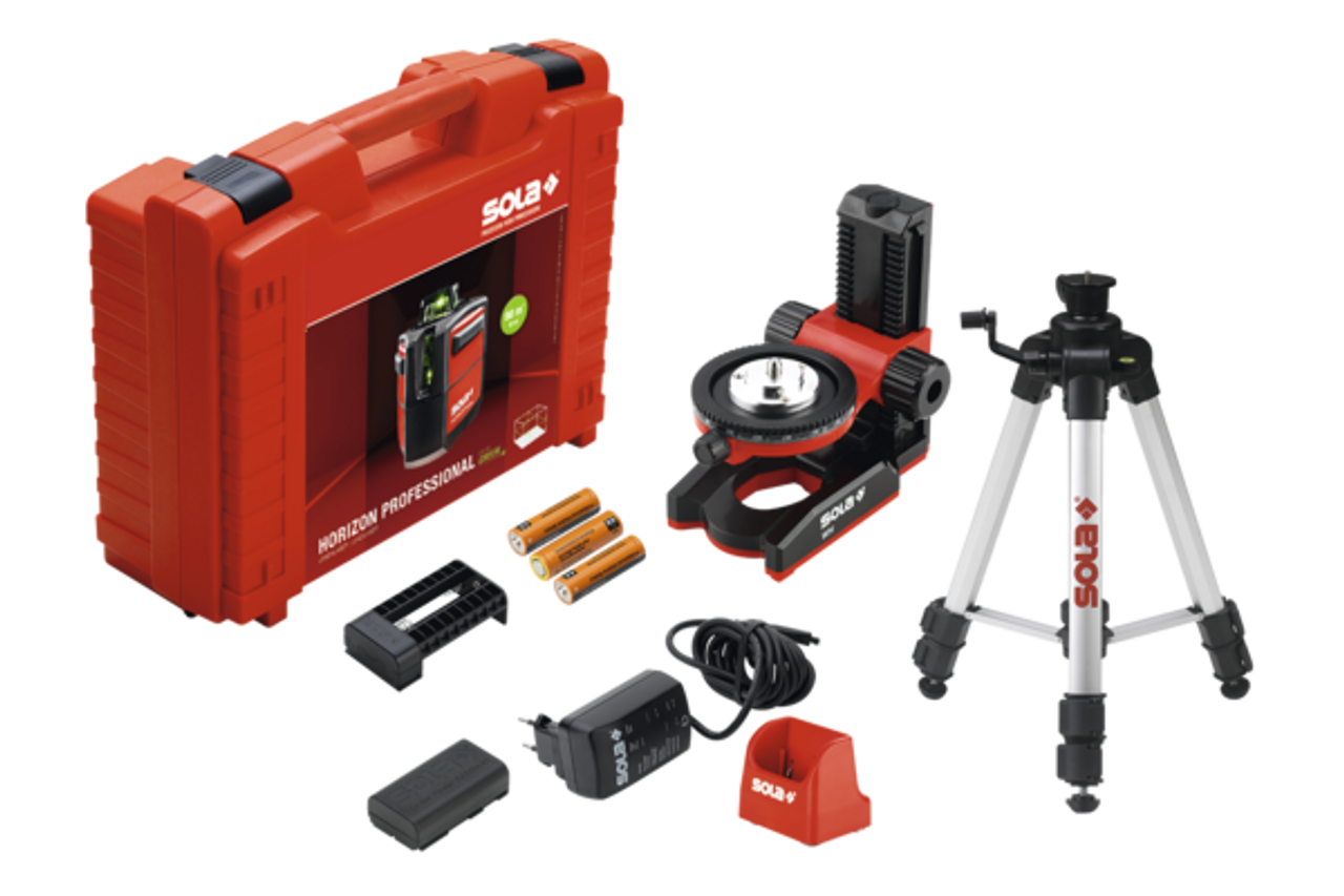 SOLA Horizon Green Profesional Laser Level