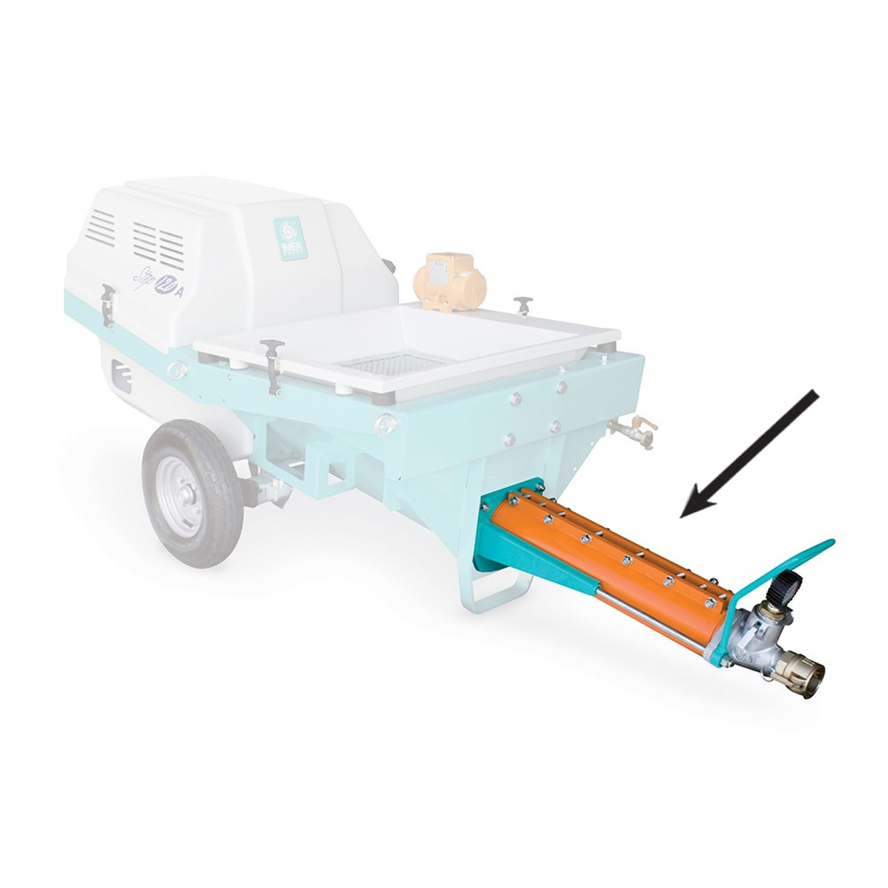 Imer Pumping Unit For Self-Levelling Screeds Step 120A