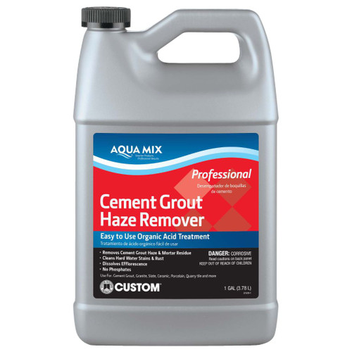 Aqua Mix Cement and Grout Haze Remover