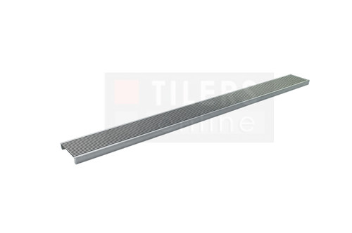 Linear Floor Grate Custom Wedge Wire  - Full view