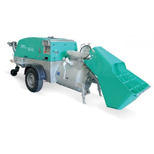 Imer Mover 270 DBR EVO Yanmar Dry Mortar Mixer And Pump (Complete Ready To Use)