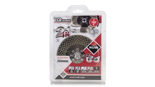 Rubi ECD Blade Professional 2 in 1 Super Pro