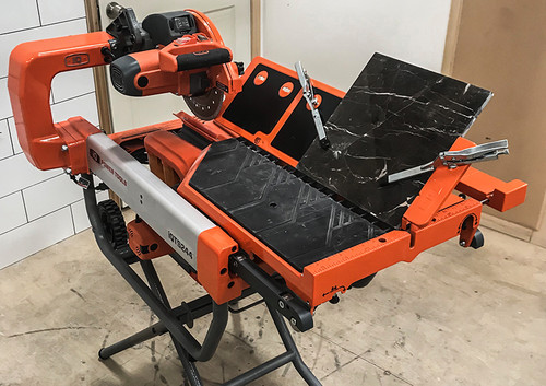 Optional Mitring Table for iQTS244 Dry Tile Saw