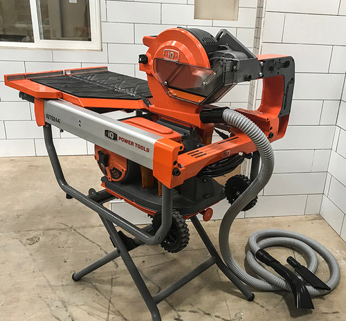 Optional Vacuum Head and Hose Attachment for iQTS244 Dry Tile Saw