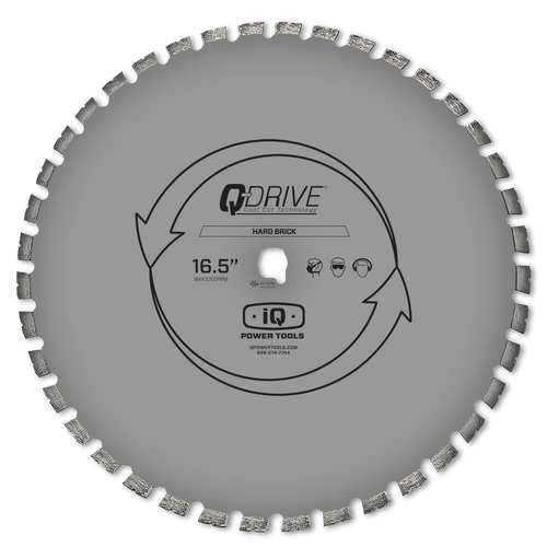 "IQ QDrive 420mm (16"") Hard Brick Silent Blade"